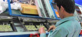 nam làm sản xuất linh kiện điện tử tại Đài trung