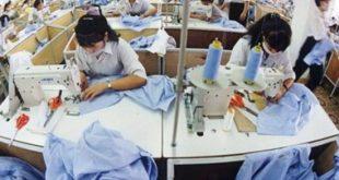 nữ làm may tại nhà máy Nho Hồng