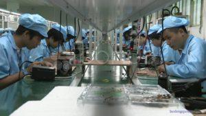 Nhà máy Hoàn Hồng tuyển 46 nữ làm điện tử