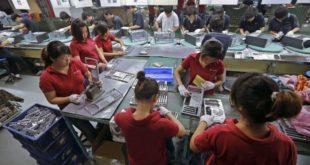 Tuyển 02 nữ làm điện tử tại NM Ma Thái, Đào Viên, pv skype