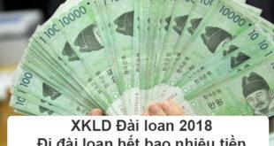 XKLD Đài loan 2018 Đi đài loan hết bao nhiêu tiền
