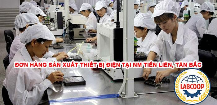 Đơn hàng sản xuất thiết bị điện lực tại nhà máy Tiến Liên